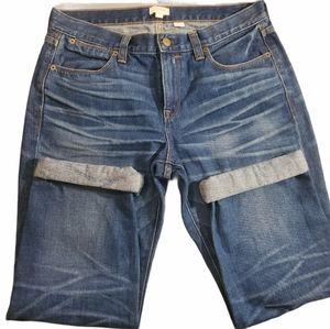 J Crew denim jeans size 28